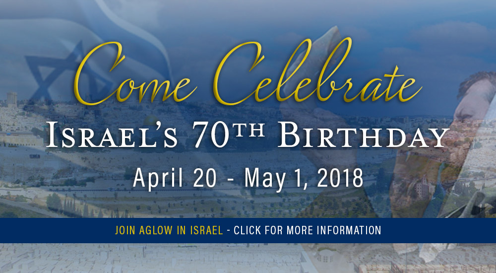 Aglow in Israel 2018
