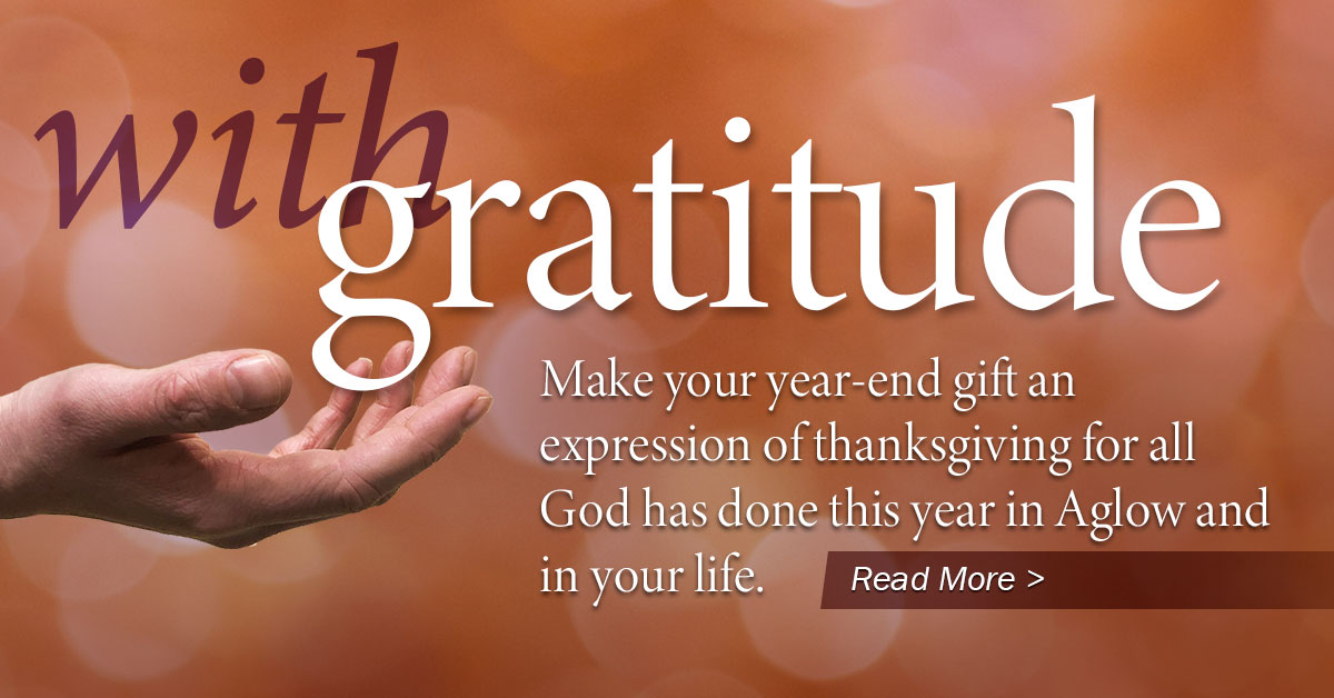 With Gratitude - 2019 Year-End Appeal