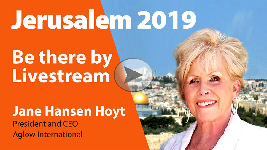2019 Jerusalem - Be There by Webcast