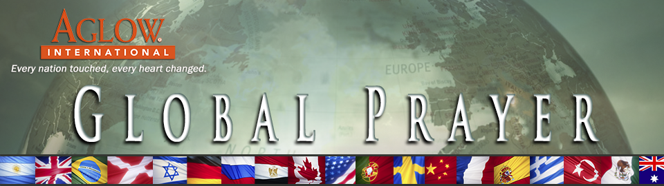 Aglow Global Prayer Header